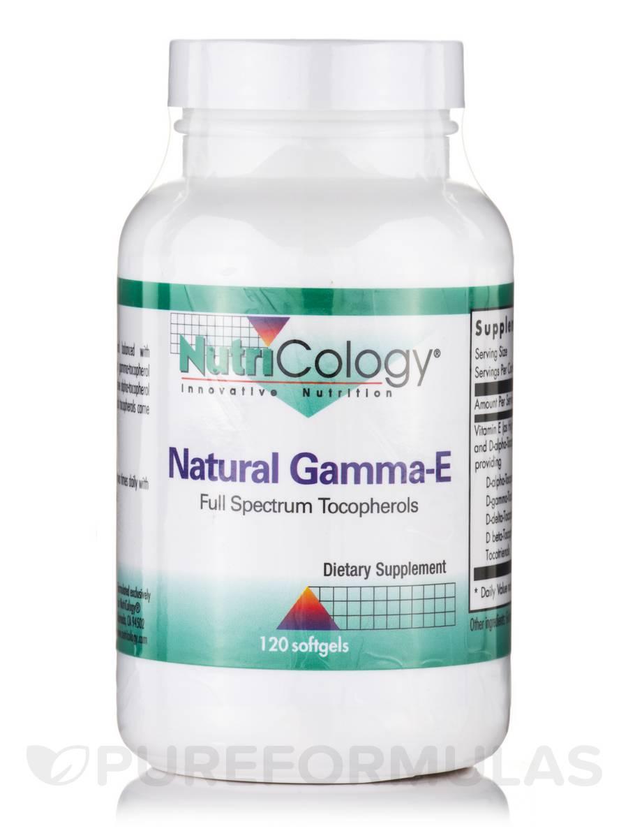 Natural Gamma-E - 120 Softgels
