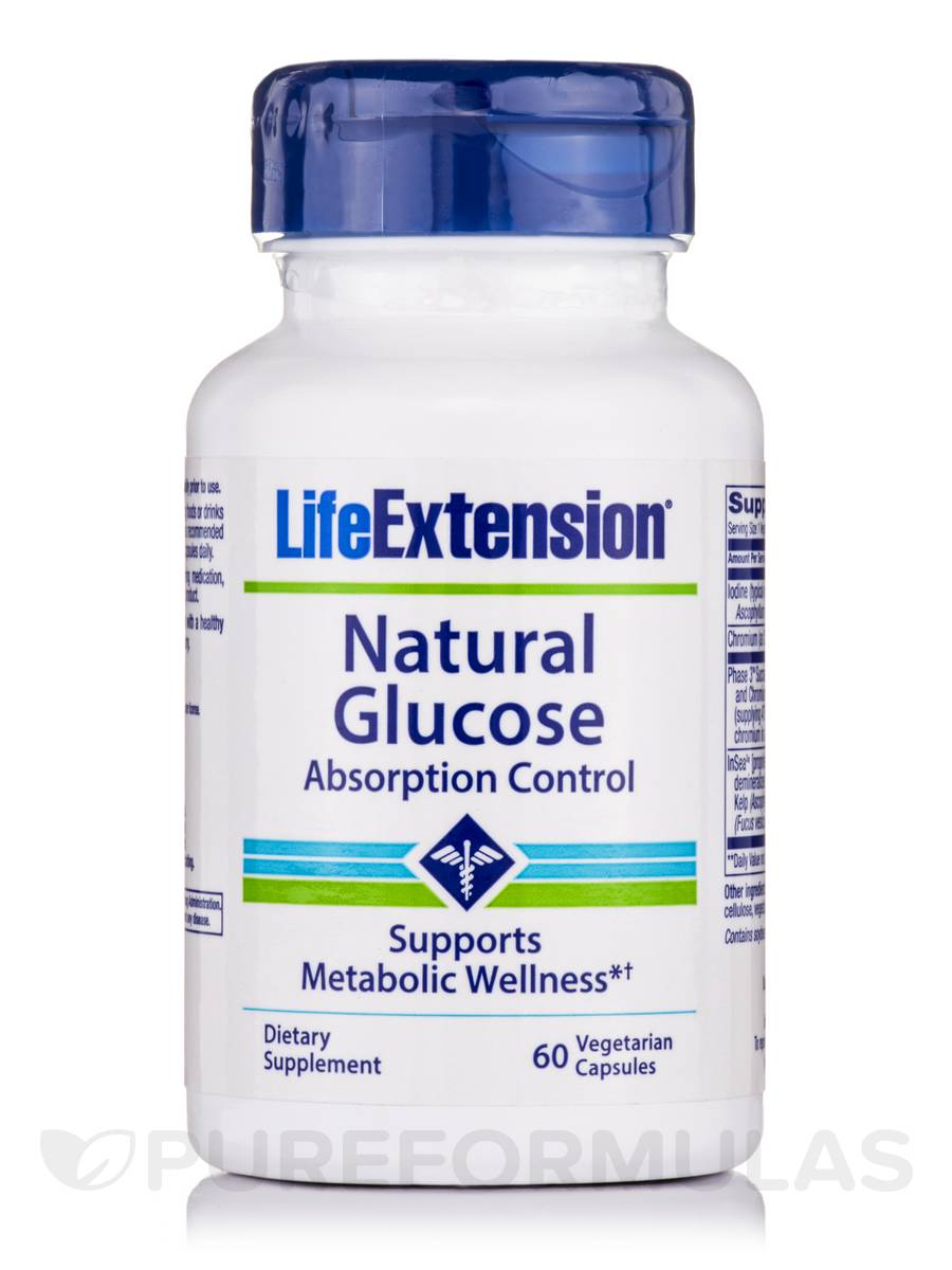 Natural Glucose Absorption Control - 60 Vegetarian Capsules