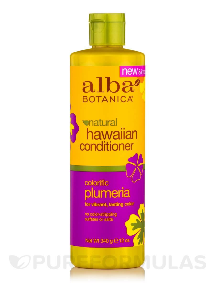 Natural Hawaiian Conditioner Colorific Plumeria - 12 oz (340 Grams)