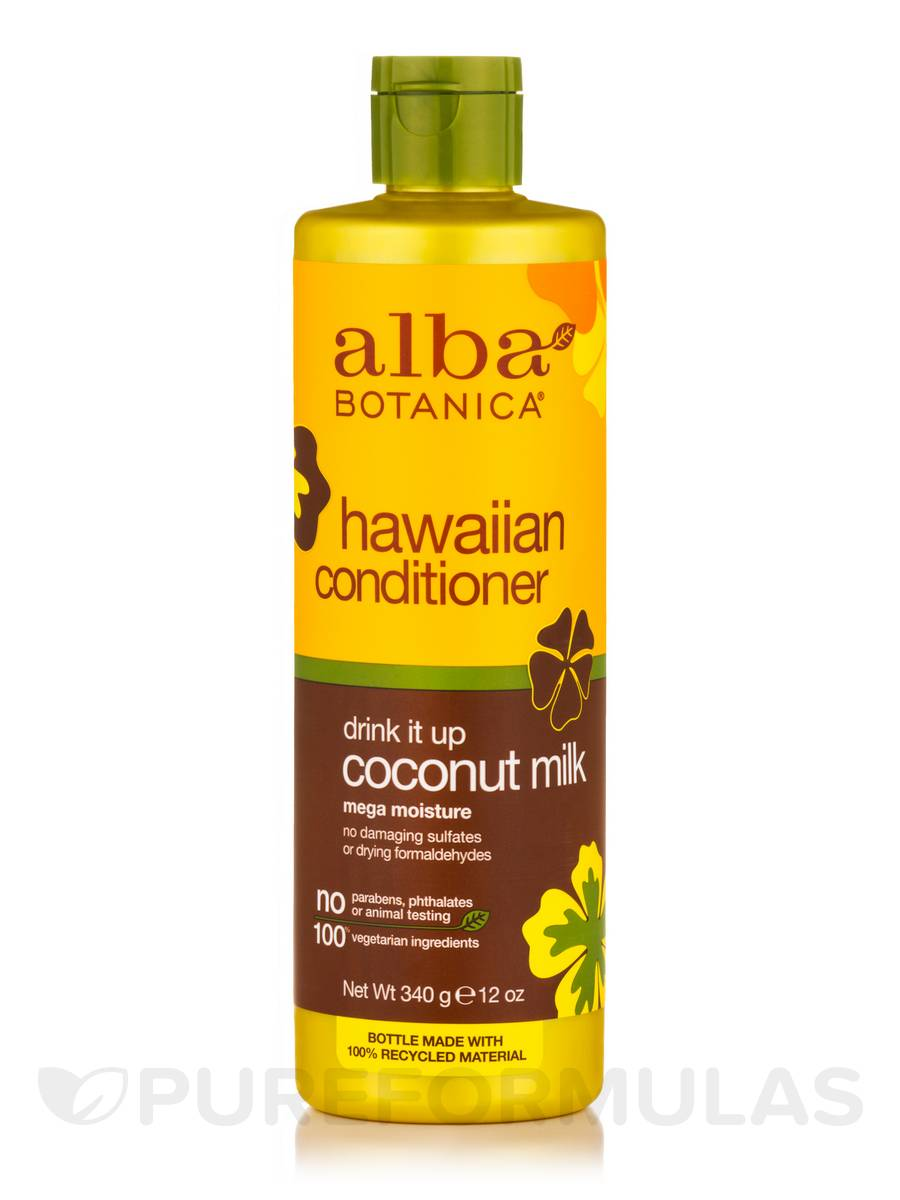 Natural Hawaiian Conditioner Drink It Up Coconut Milk - 12 oz (340 Grams)