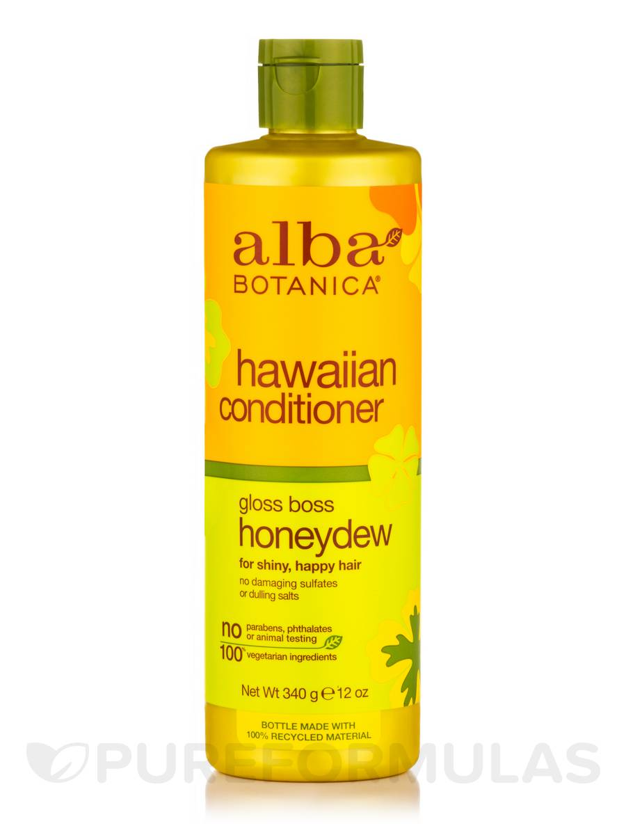 Natural Hawaiian Conditioner Gloss Boss Honeydew - 12 oz (340 Grams)