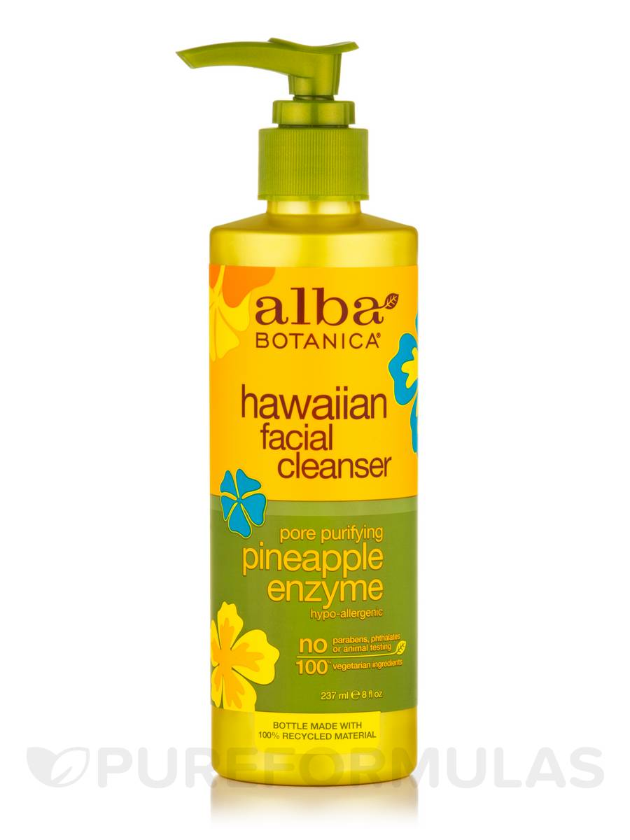 Natural Hawaiian Facial Cleanser Pore Purifying Pineapple Enzyme - 8 fl. oz (237 ml)
