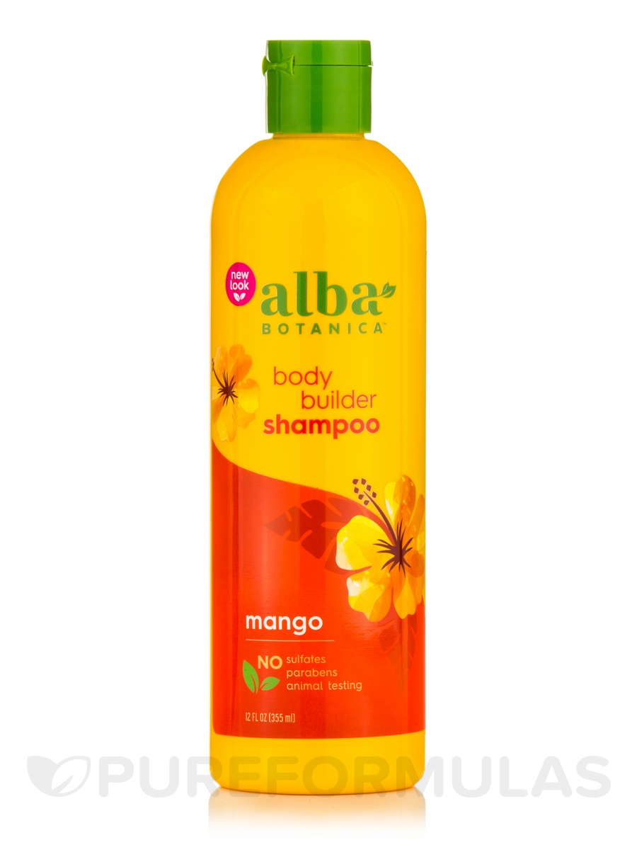 Natural Hawaiian Shampoo Body Builder Mango - 12 fl. oz (355 ml)