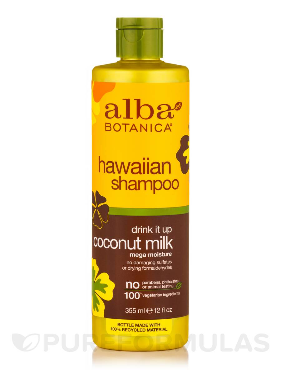 Natural Hawaiian Shampoo Drink It Up Coconut Milk - 12 fl. oz (355 ml)