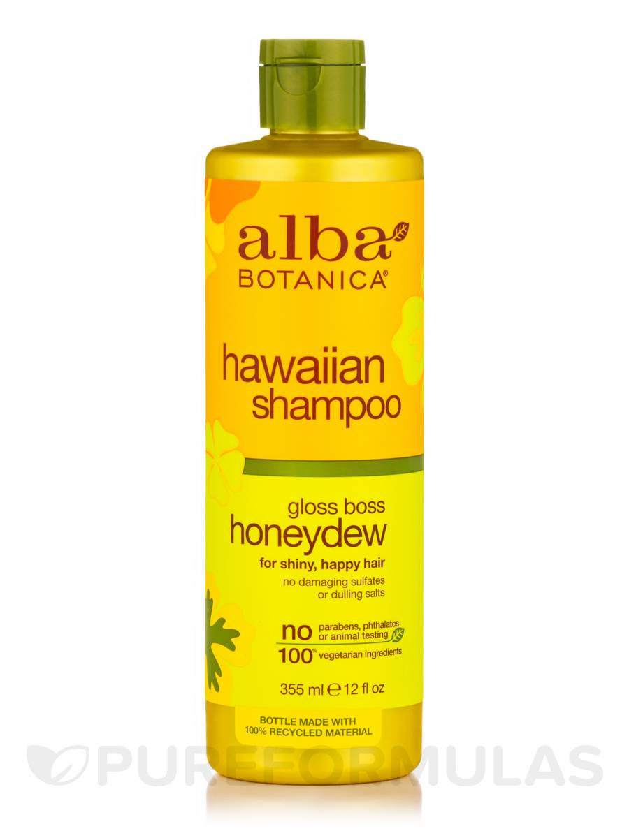 Natural Hawaiian Shampoo Gloss Boss Honeydew - 12 fl. oz (355 ml)