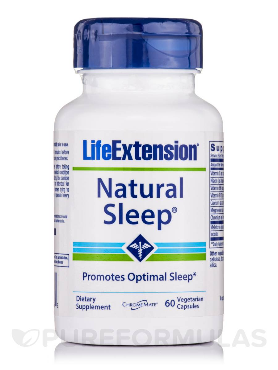 Natural Sleep - 60 Vegetarian Capsules
