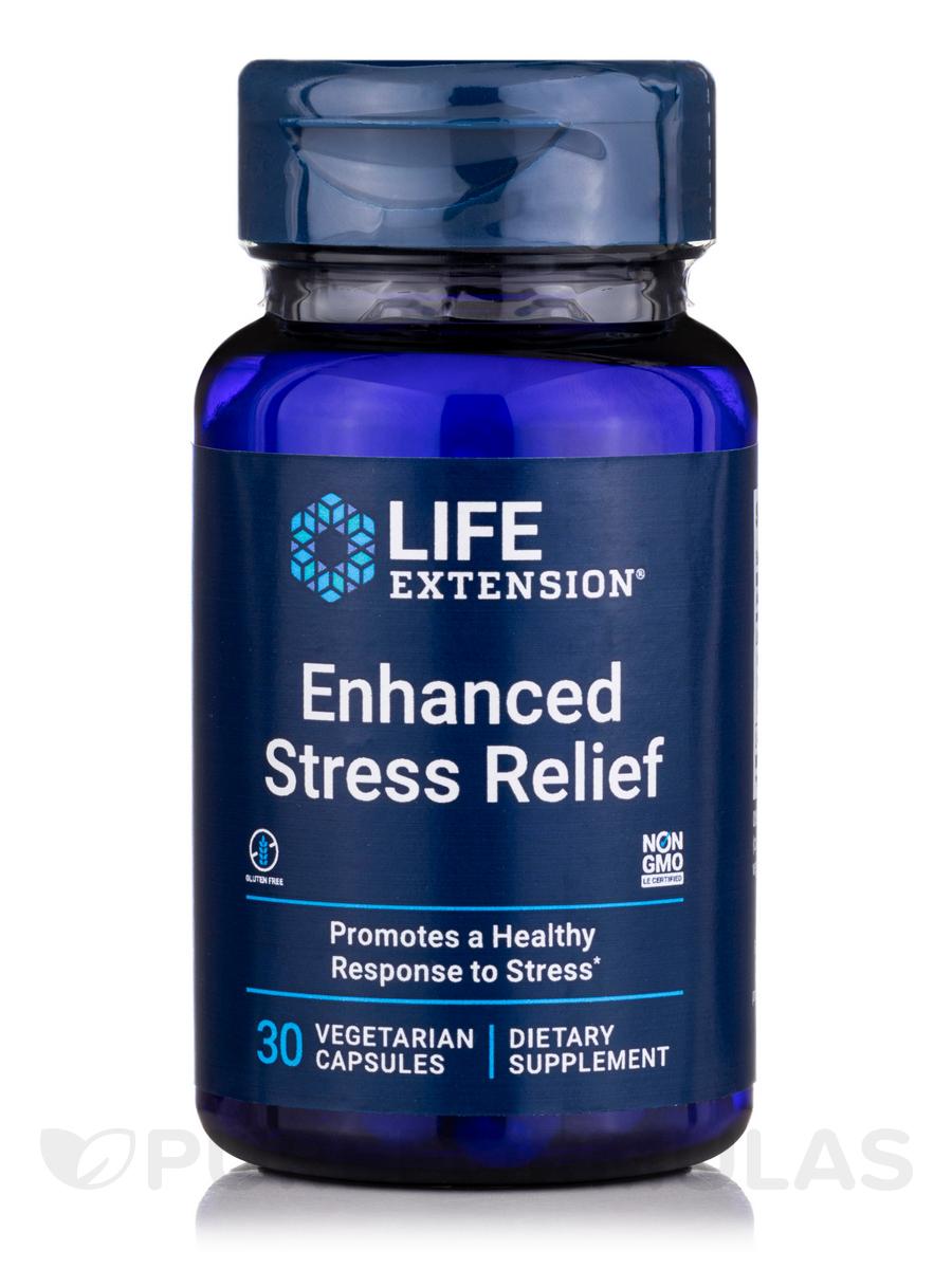 Natural Stress Relief - 30 Vegetarian Capsules