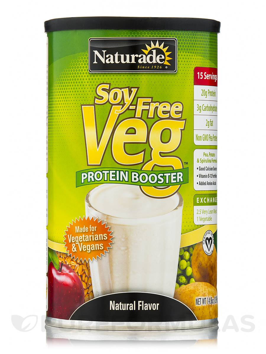 Natural Vegetable Protein Soy-Free - 14.8 oz (420 Grams)