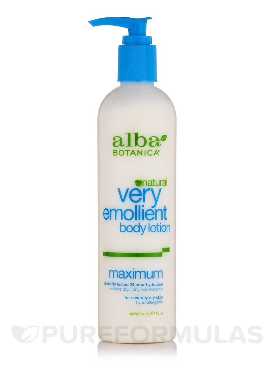 Natural Very Emollient Body Lotion Maximum Dry Skin - 12 oz (340 Grams)