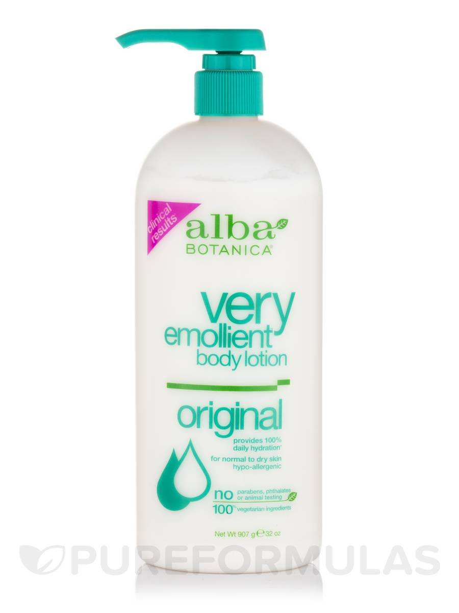 Natural Very Emollient Body Lotion Original Scented - 32 oz (907 Grams)