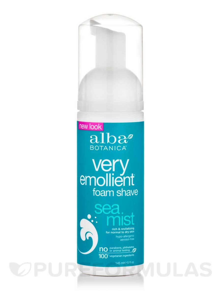 Natural Very Emollient Foam Shave Sea Mist - 5 fl. oz (145 ml)