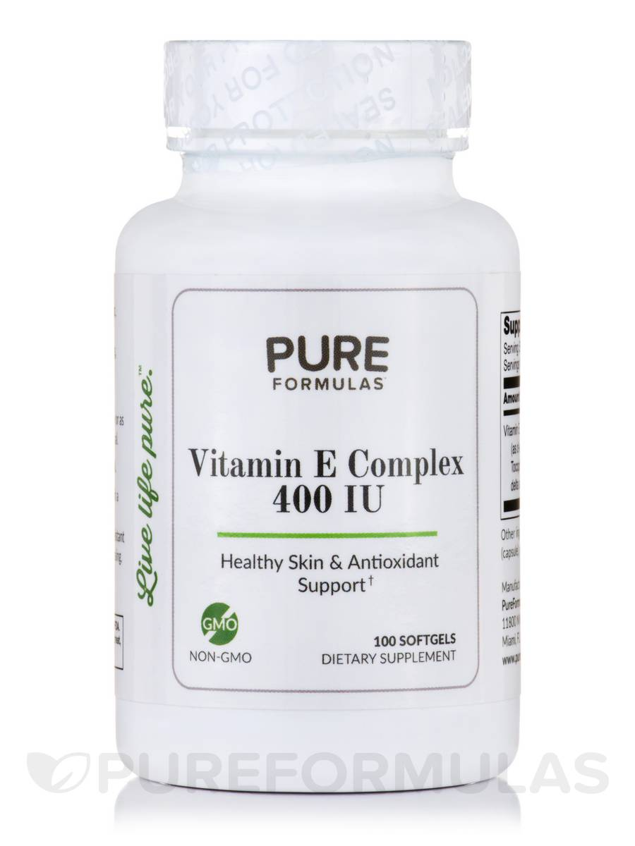 Vitamin E Complex 400 IU - 100 Softgels