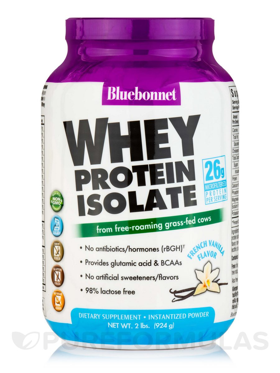 100 natural whey protein isolate powder french vanilla flavor 2 lbs 924 grams. Black Bedroom Furniture Sets. Home Design Ideas