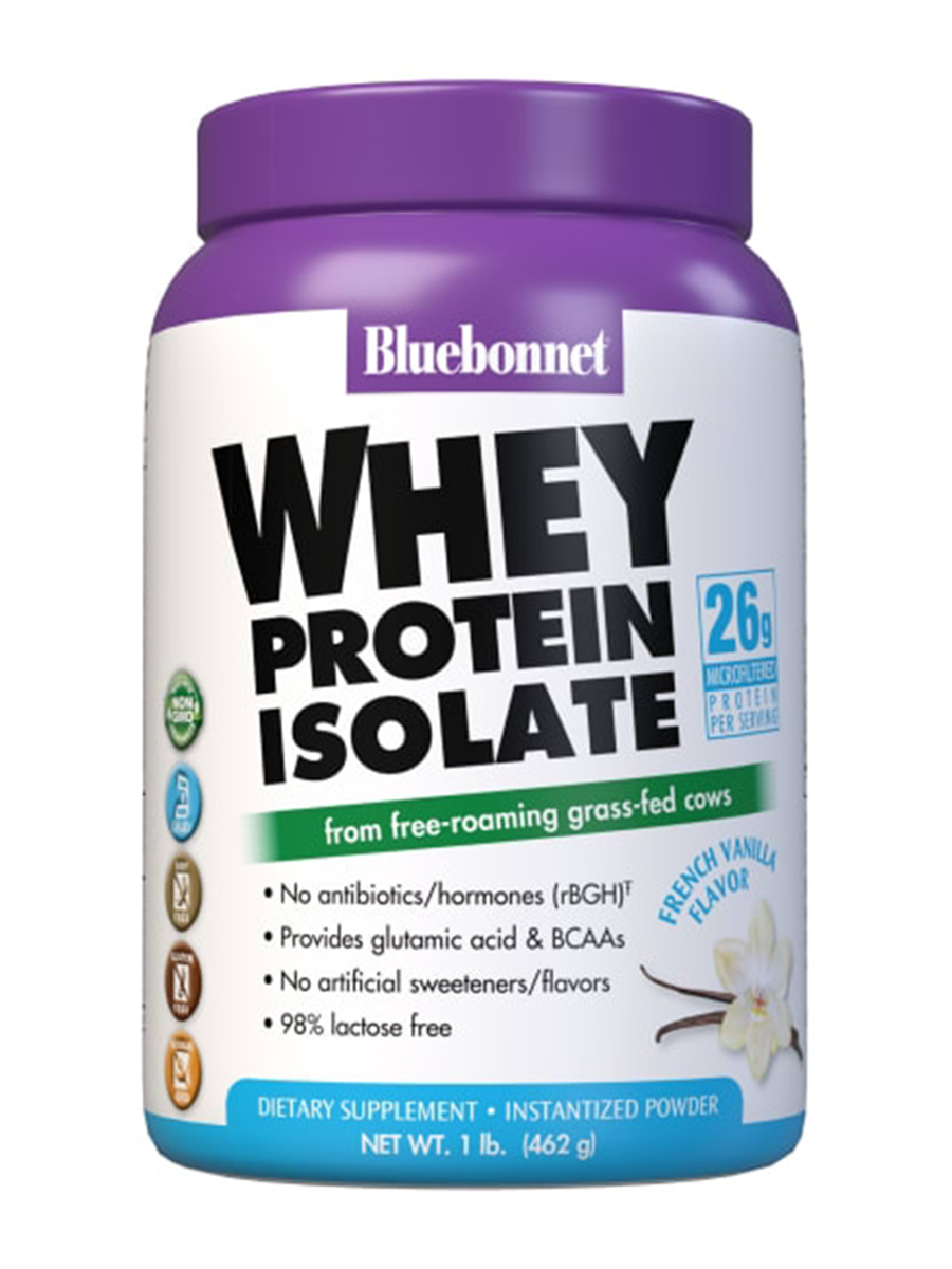 100% Natural Whey Protein Isolate Powder, Original Flavor - 2.2 lbs (992 Grams)