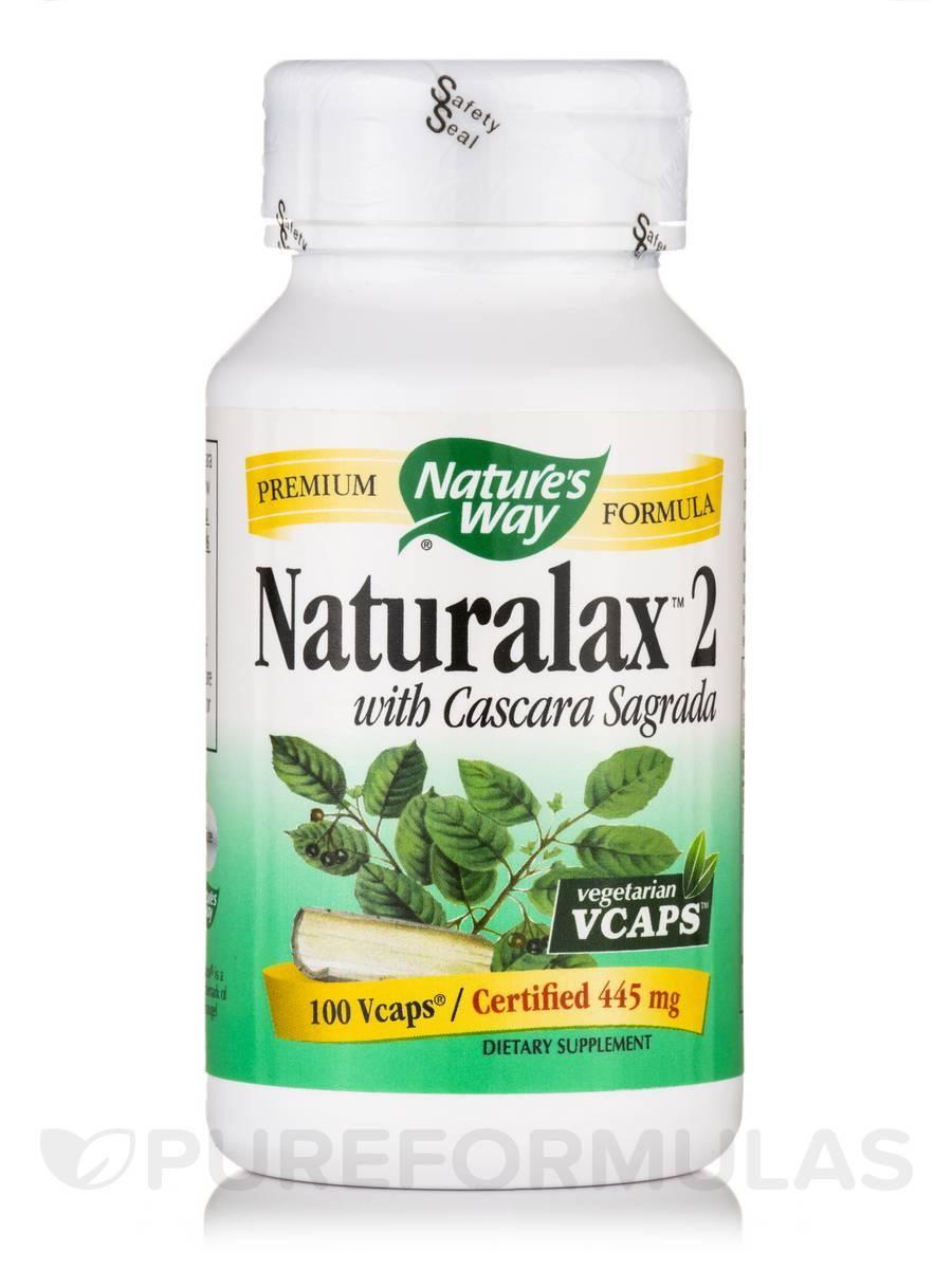 Naturalax 2 with Cascara Sagrada 445 mg - 100 VCaps
