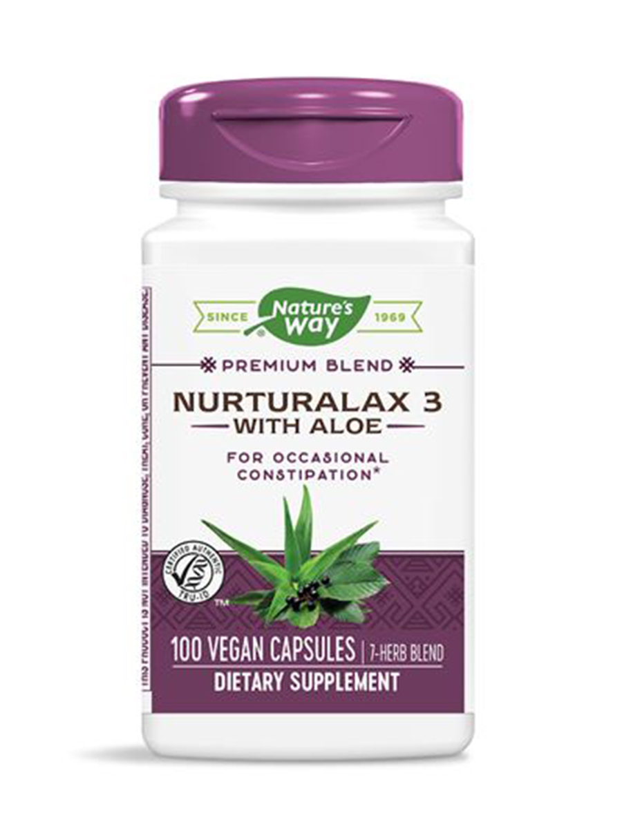Naturalax 3 with Aloe 430 mg - 100 VCaps