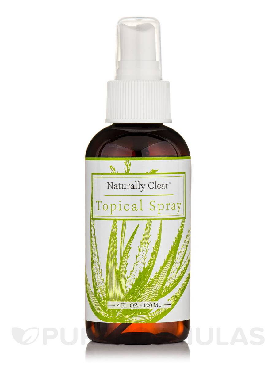 Naturally Clear Topical Spray - 4 fl. oz (120 ml)
