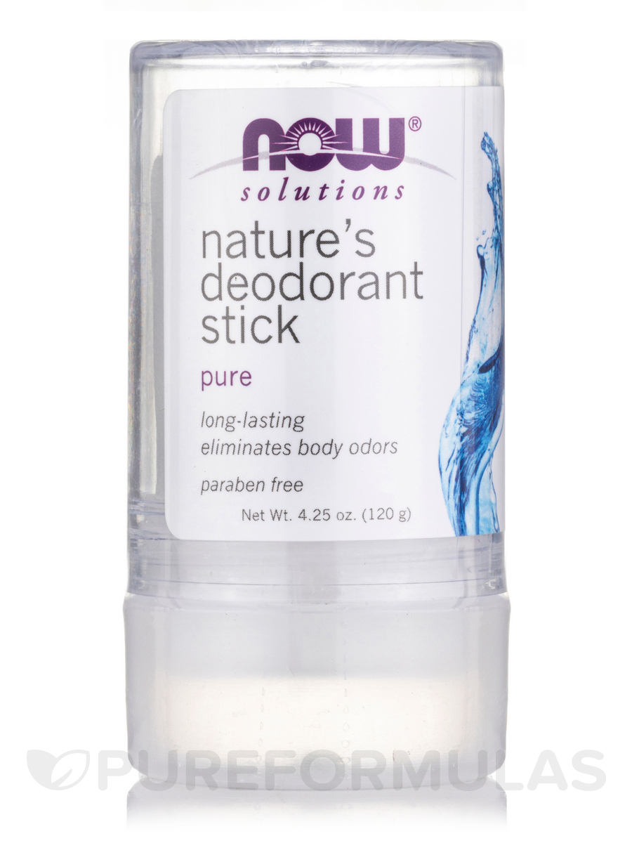 NOW® Solutions - Nature's Deodorant Stick - 3.5 oz (99 Grams)