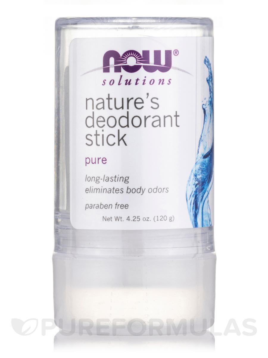NOW® Solutions - Nature's Deodorant Stick - 3.5 oz (99 Grams)