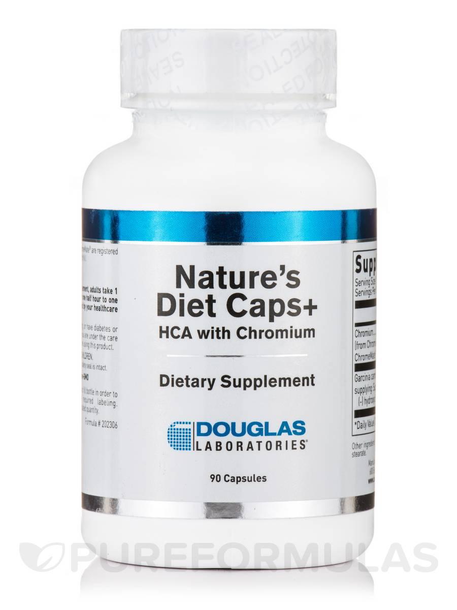 Nature's Diet Caps + - 90 Capsules