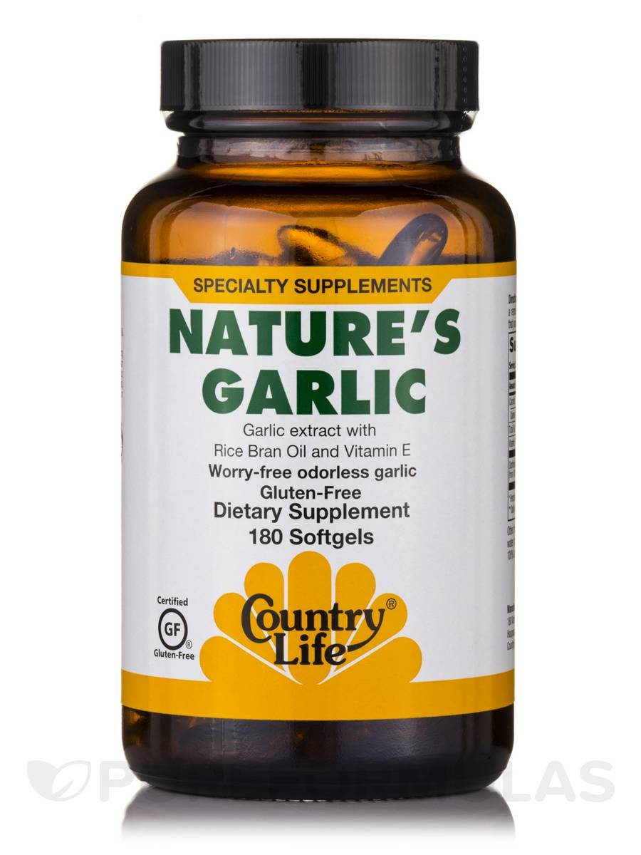 Nature's Garlic - 180 Softgels