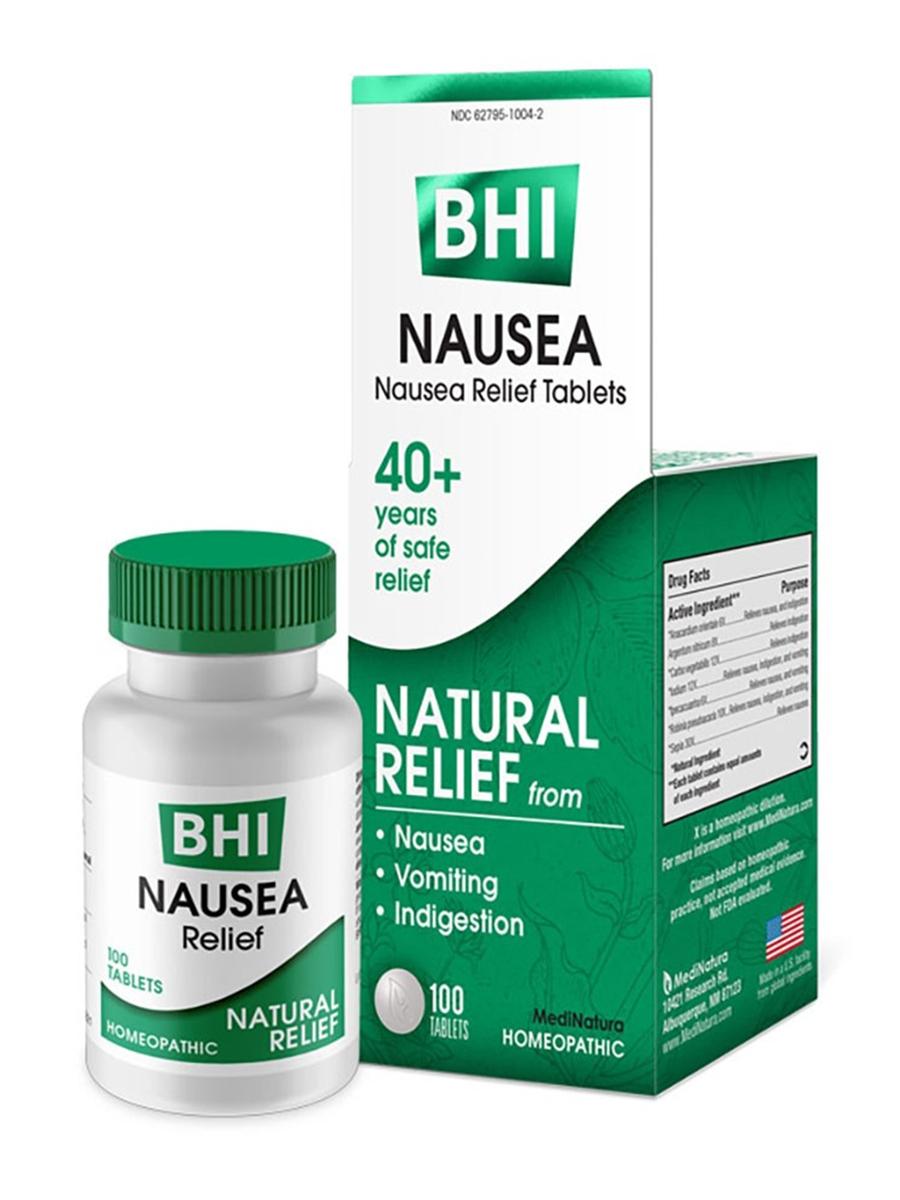 BHI Nausea Relief - 100 Tablets
