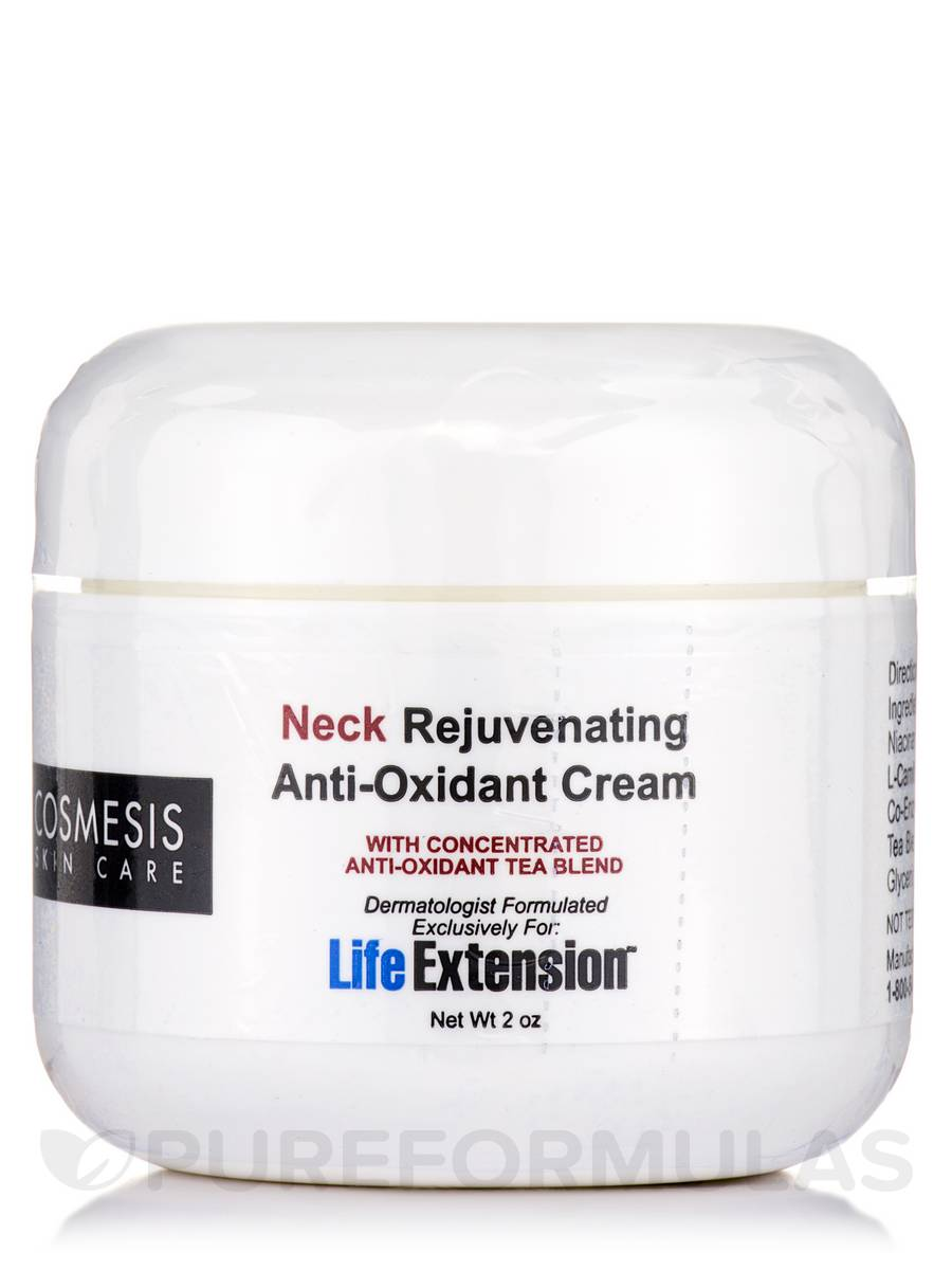Neck Rejuvenating Anti-Oxidant Cream - 2 oz