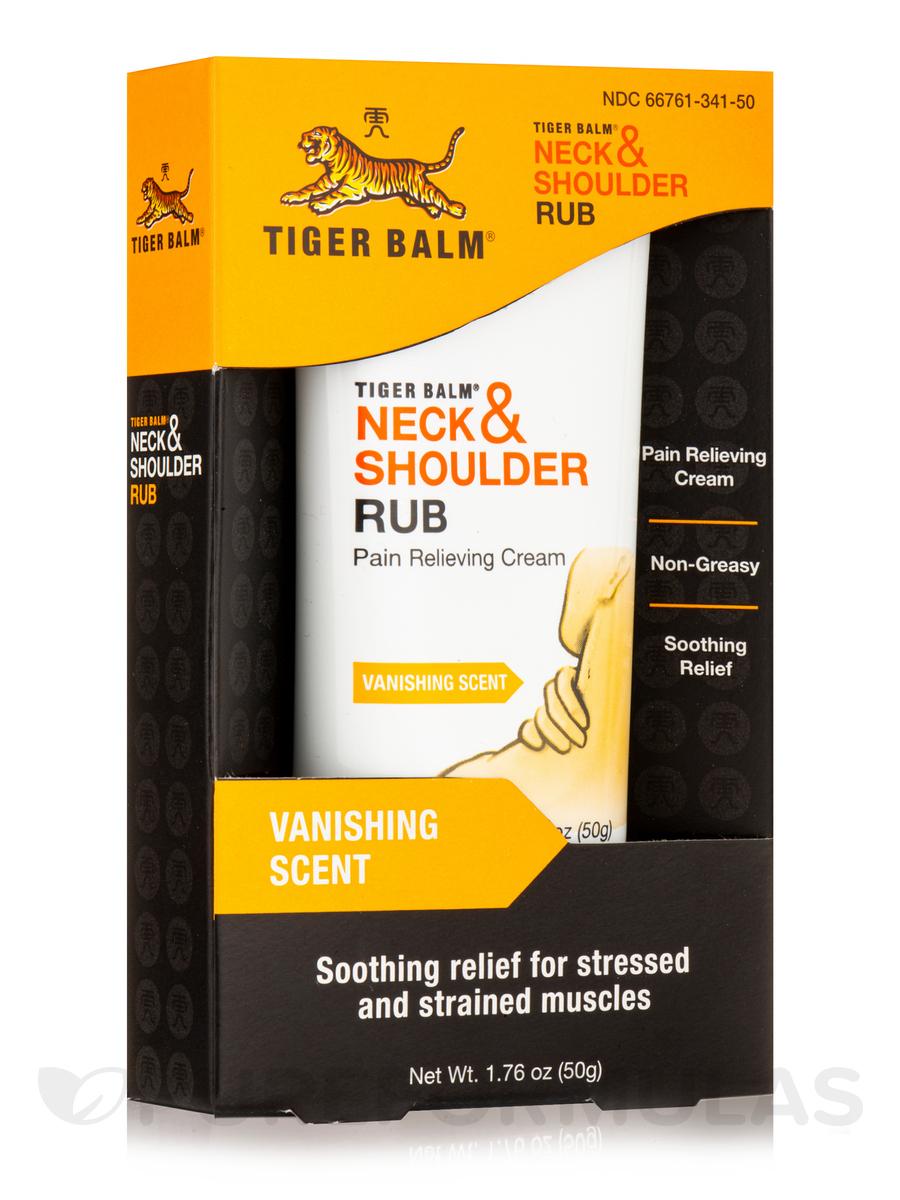 Neck & Shoulder Rub, Vanishing Scent - 1.76 oz (50 Grams)