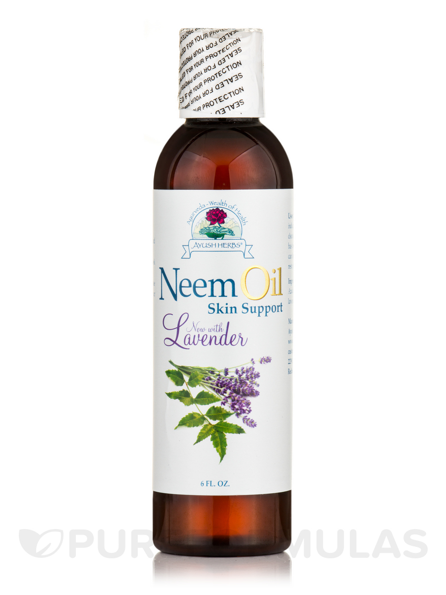 Neem Oil Skin Support with Lavender - 6 fl. oz