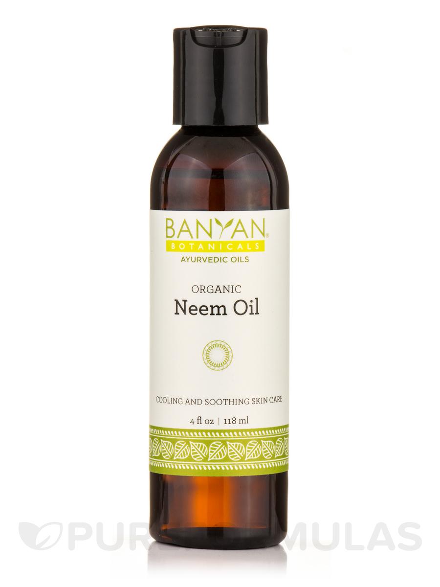 Neem Oil, Organic - 4 fl. oz (118 ml)