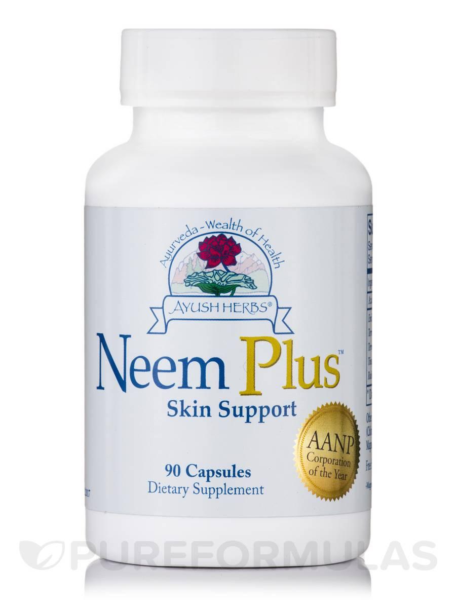 Neem Plus - 90 Vegetarian Capsules