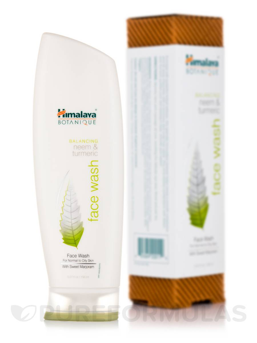 Balancing Neem & Turmeric Face Wash with Sweet Marjoram - 5.07 fl. oz (150 ml)