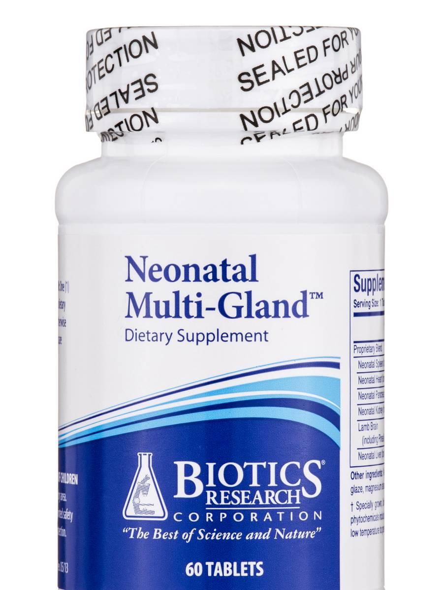Neonatal Multi-Gland - 60 Tablets