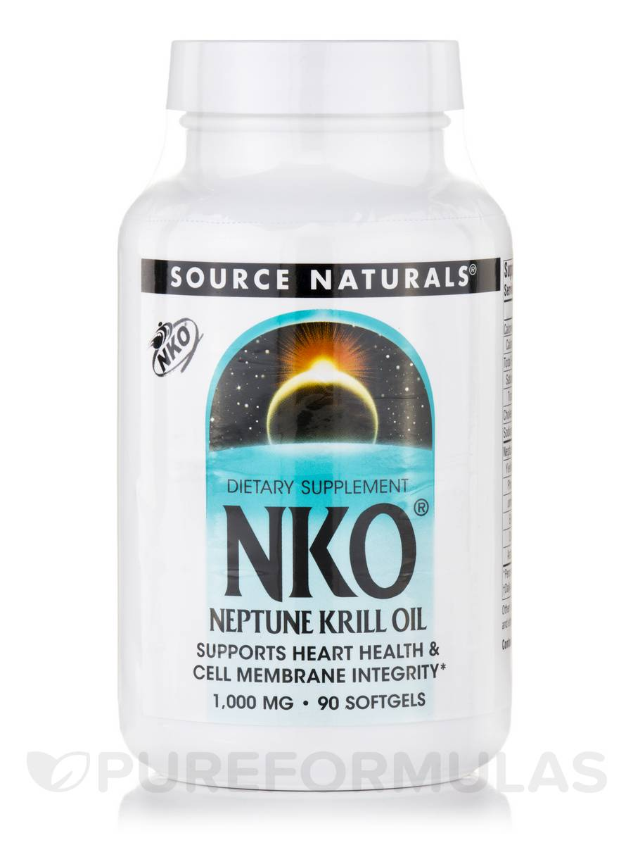 NKO (Neptune Krill Oil) 1000 mg - 90 Softgels