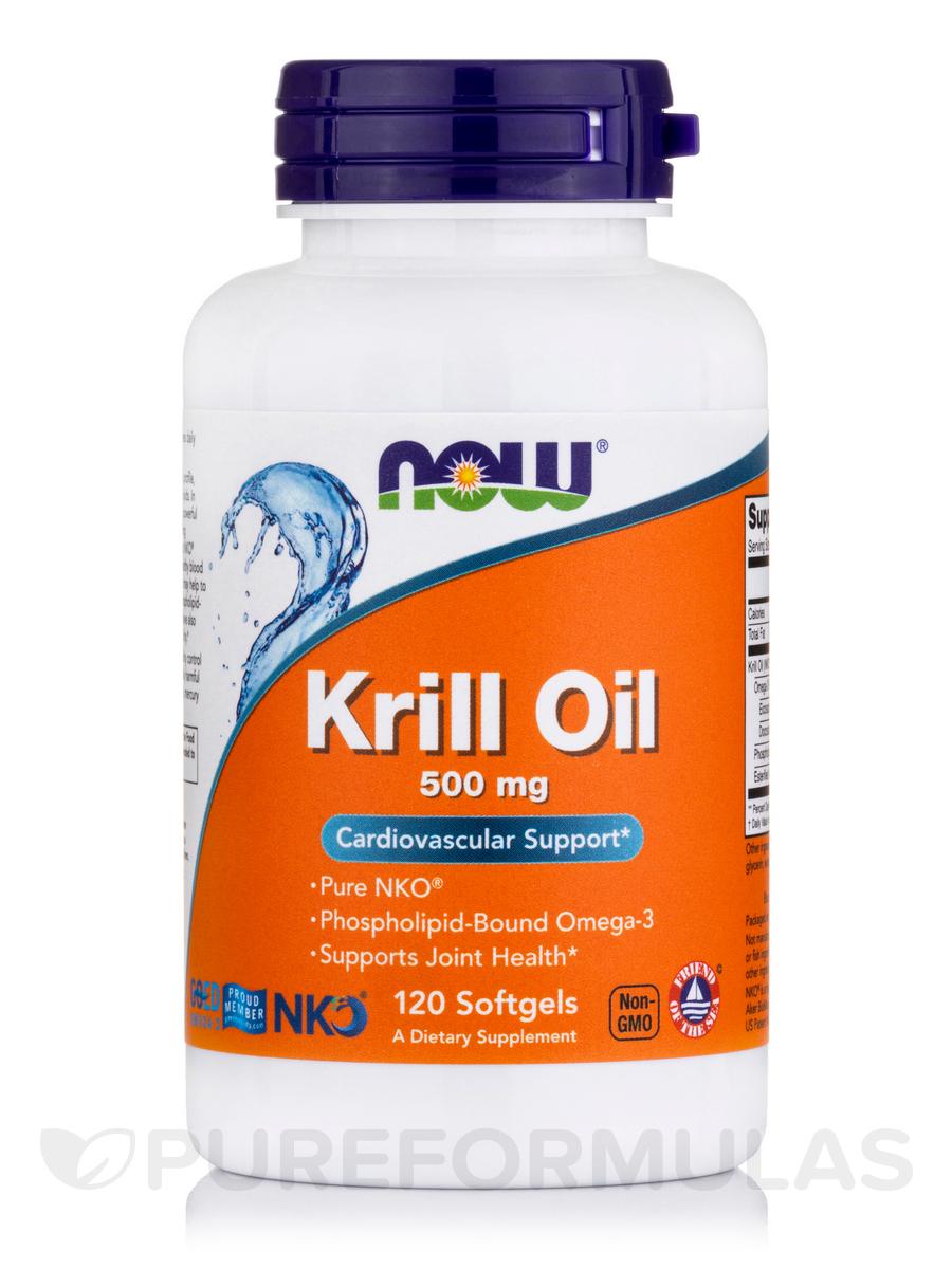Neptune Krill Oil 500 mg - 120 Softgels
