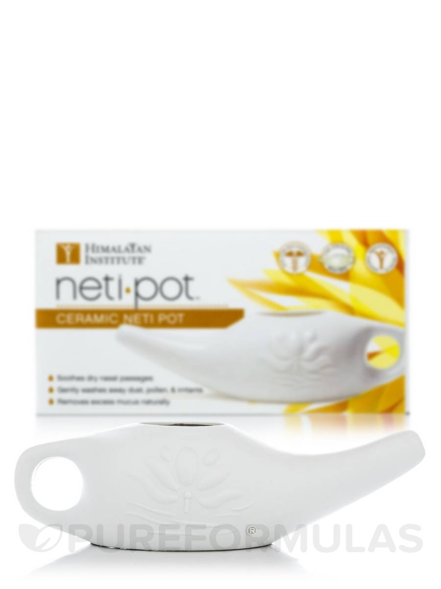 Neti Pot Ceramic - 1 Unit