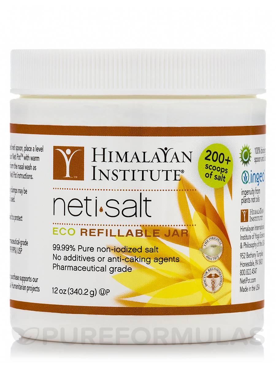 Neti Salt Jar - 12 oz (340.2 Grams)