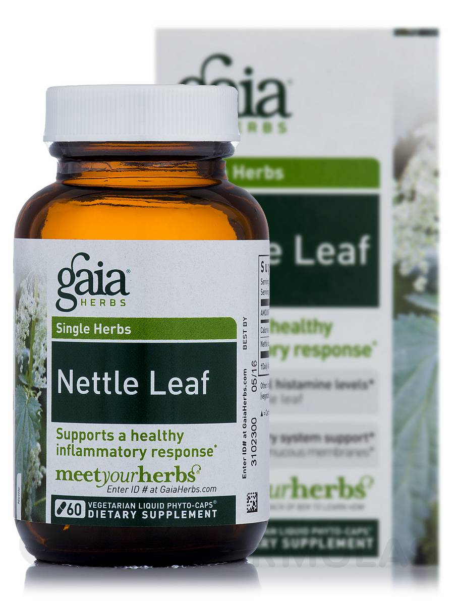 Nettle Leaf - 60 Vegetarian Liquid Phyto-Caps