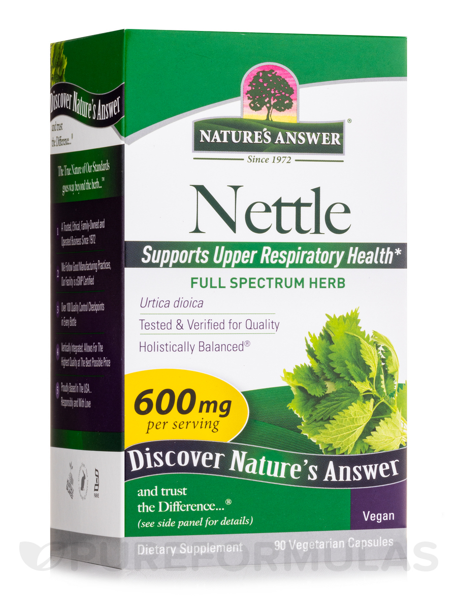 Nettle Leaf - 90 Vegetarian Capsules
