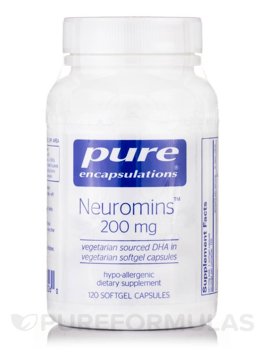 Neuromins (DHA) 200 mg - 120 Softgel Capsules
