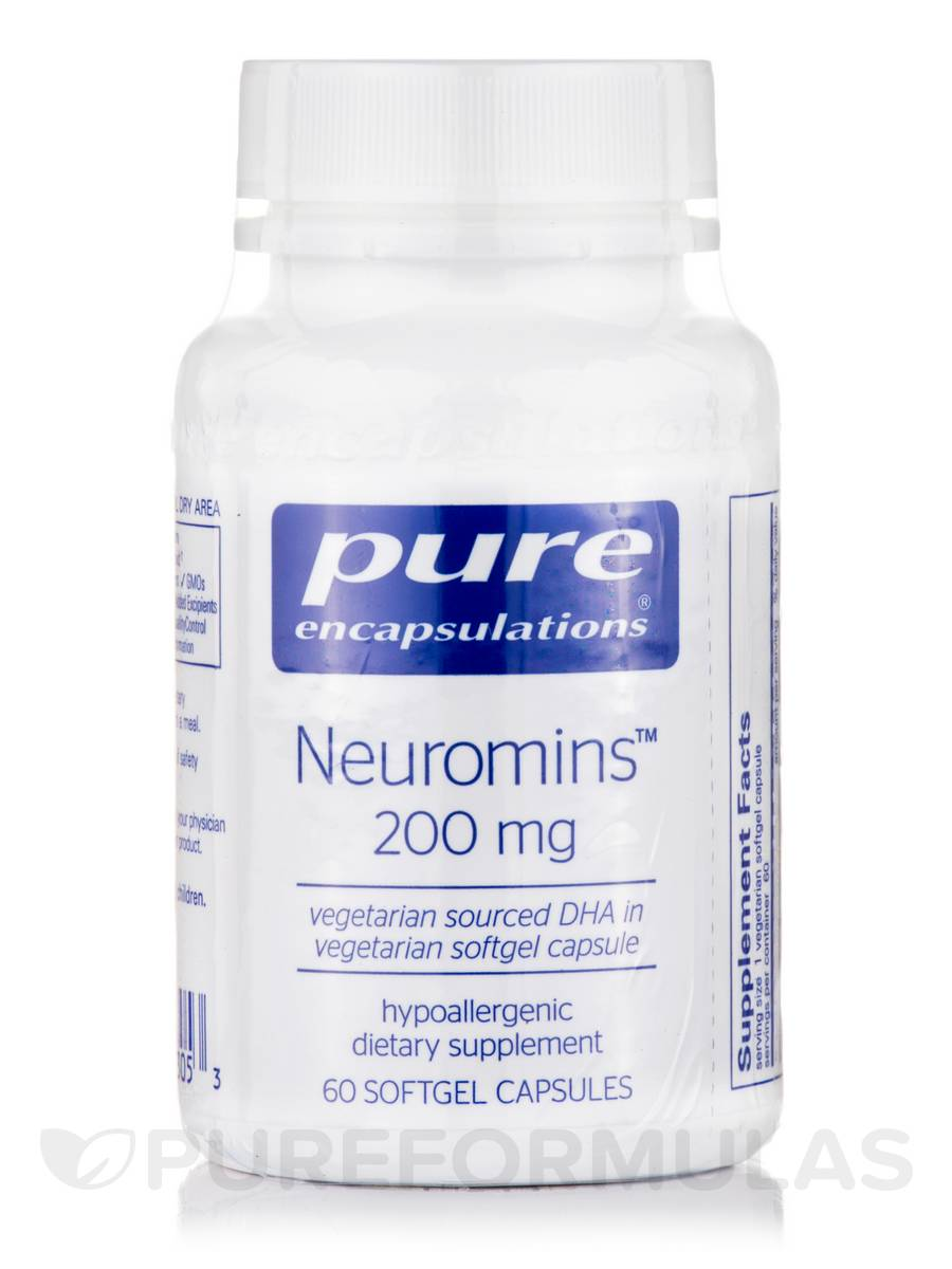 Neuromins (DHA) 200 mg - 60 Softgel Capsules