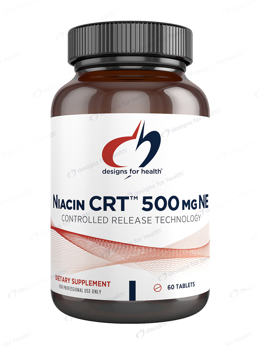 Niacin CRT 500 mg - 60 Tablets