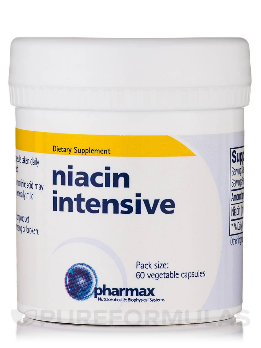 Niacin Intensive - 60 Vegetable Capsules