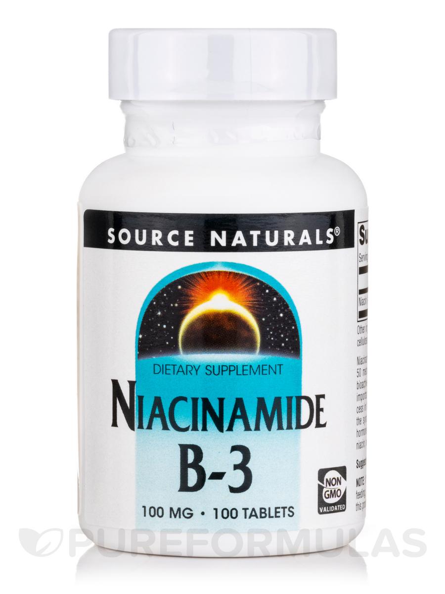 Niacinamide 100 mg - 100 Tablets