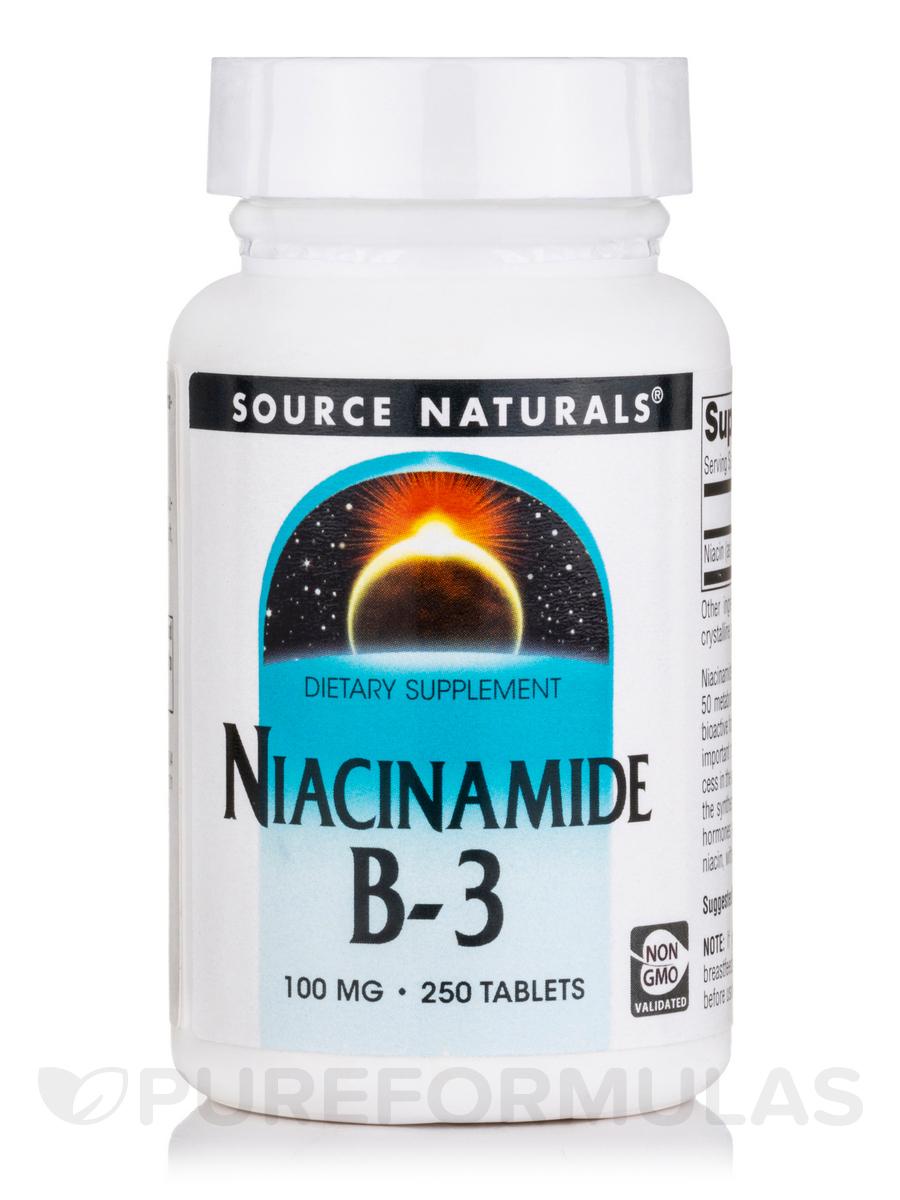 Niacinamide 100 mg - 250 Tablets