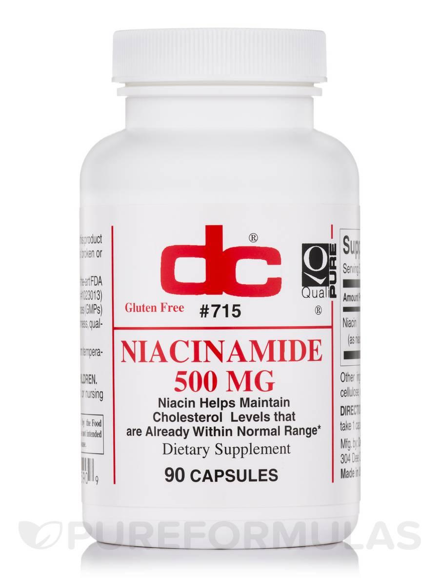 Niacinamide 500 mg - 90 Capsules