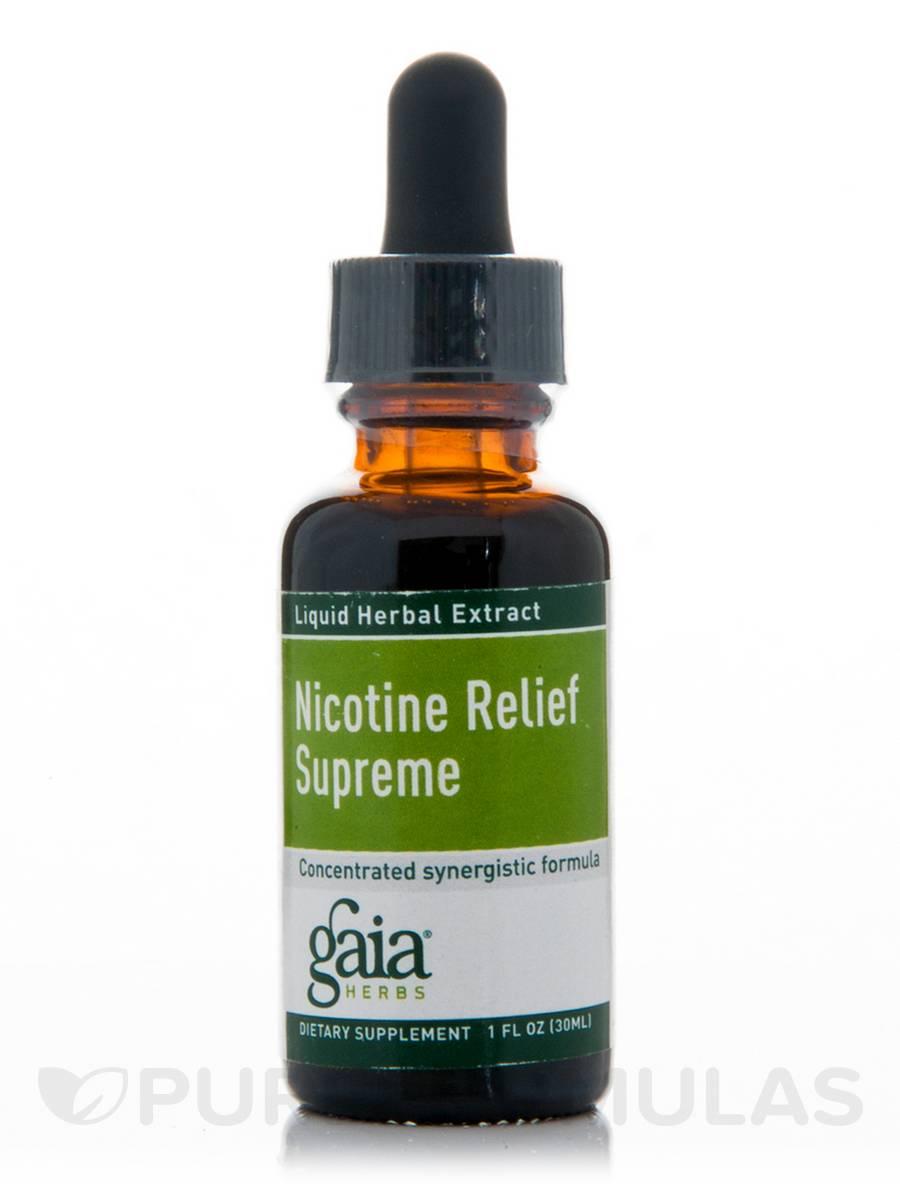 Nicotine Relief (Supreme) - 1 fl. oz (30 ml)