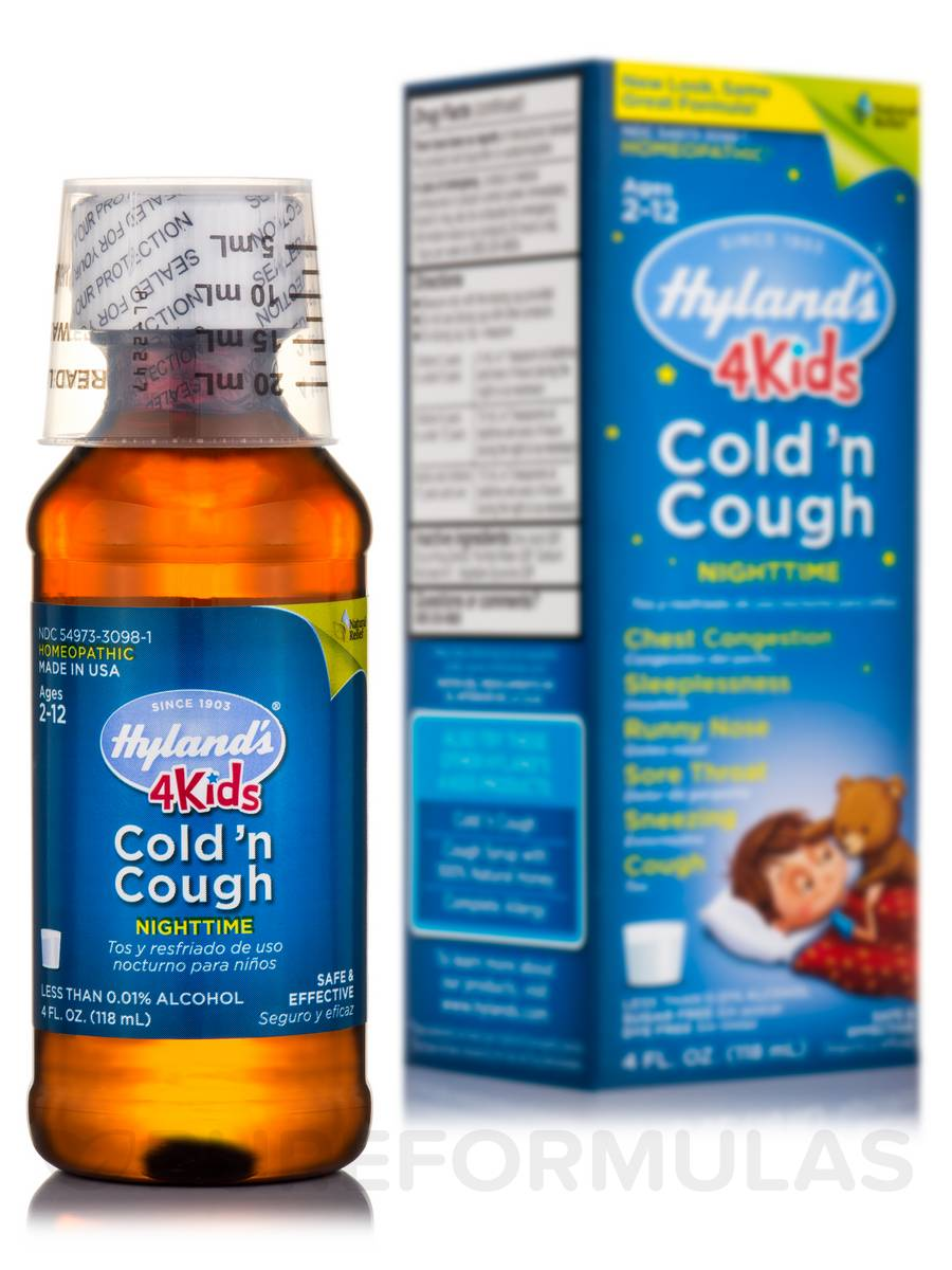 4 Kids Cold 'n Cough Nighttime - 4 fl. oz (118 ml)