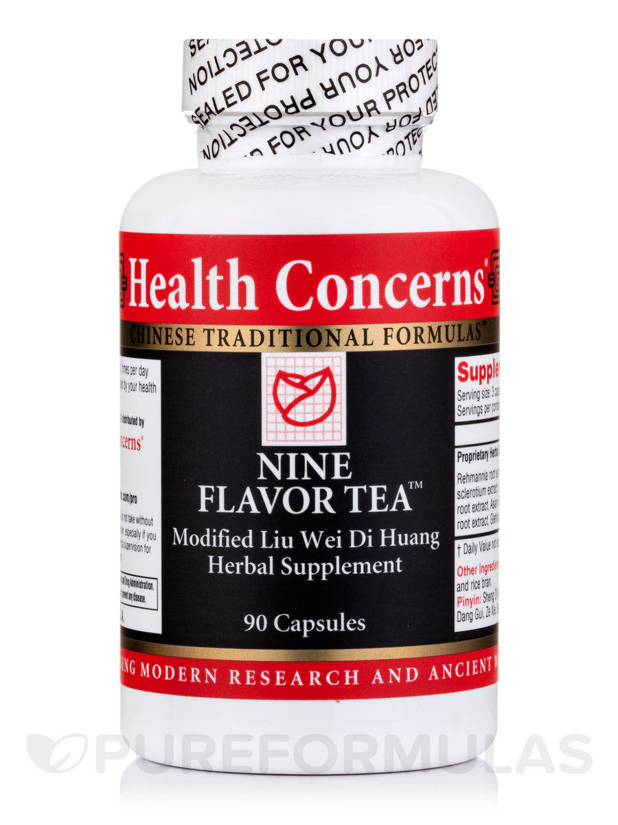 Nine Flavor Tea - 90 Tablets
