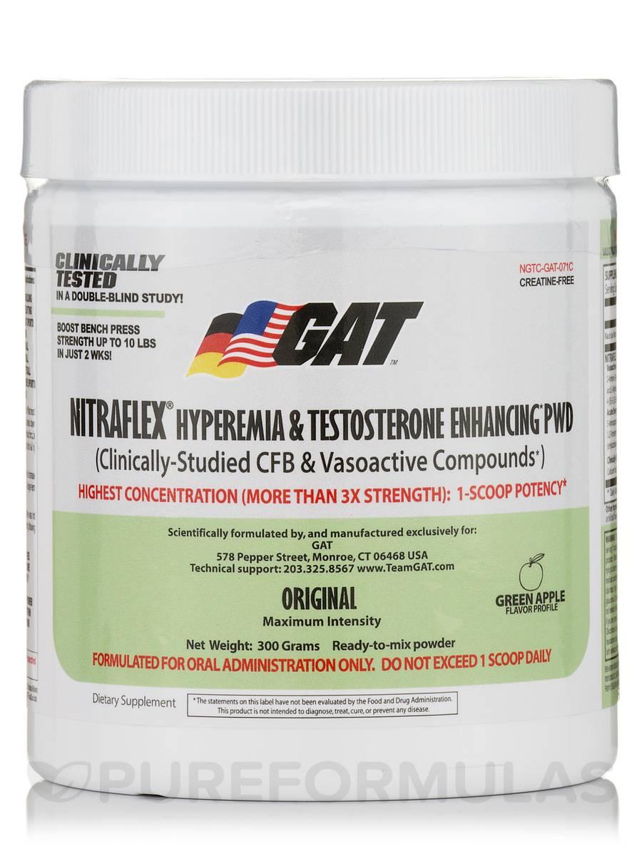 NitraFlex Green Apple - 30 Servings (300 Grams)